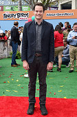 Actor Bill Hader arrives at the premiere of Sony Pictures' 'The Angry Birds Movie' at Regency Village Theatre on May 7 2016 in Westwood California