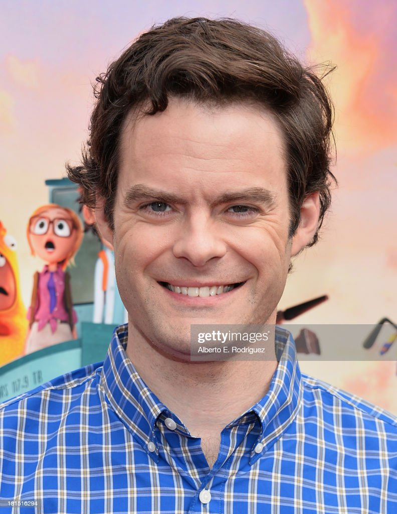 Actor <a gi-track='captionPersonalityLinkClicked' href=/galleries/search?phrase=Bill+Hader&family=editorial&specificpeople=757145 ng-click='$event.stopPropagation()'>Bill Hader</a> arrives to the premiere of Columbia Pictures and Sony Pictures Animation's 'Cloudy With A Chance of Meatballs 2' at the Regency Village Theatre on September 21, 2013 in Westwood, California.