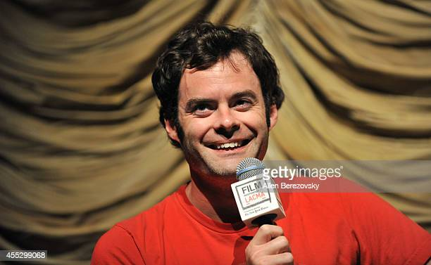 Actor Bill Hader attends a special screening of 'The Skeleton Twins' and QA session as part of Film Independent presented by LACMA at Bing Theatre At...