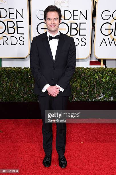 Actor Bill Hader attends the 72nd Annual Golden Globe Awards at The Beverly Hilton Hotel on January 11 2015 in Beverly Hills California