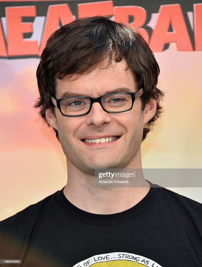 Actor <a gi-track='captionPersonalityLinkClicked' href=/galleries/search?phrase=Bill+Hader&family=editorial&specificpeople=757145 ng-click='$event.stopPropagation()'>Bill Hader</a> attends the 'Cloudy With A Chance Of Meatballs 2' - Los Angeles Photo Call at Four Seasons Hotel Los Angeles at Beverly Hills on September 15, 2013 in Beverly Hills, California.