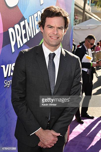 Actor Bill Hader attends the Los Angeles premiere of DisneyPixar's 'Inside Out' at the El Capitan Theatre on June 8 2015 in Hollywood California