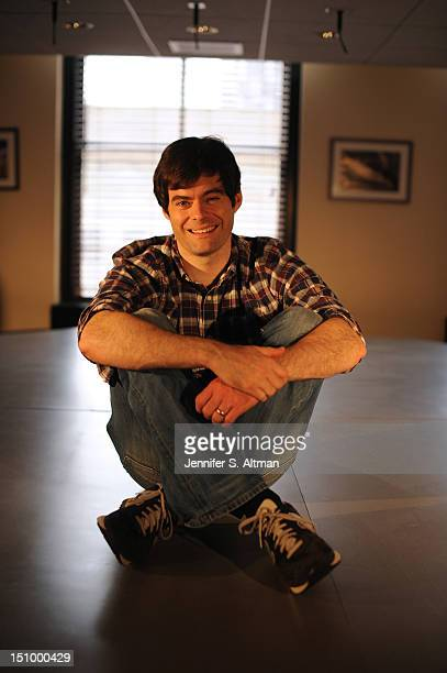Actor Bill Hader is photographed for Los Angeles Times on July 23 2012 in New York City