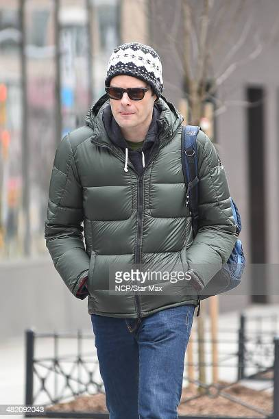 Actor Bill Hader is seen on April 2 2014 in New York City