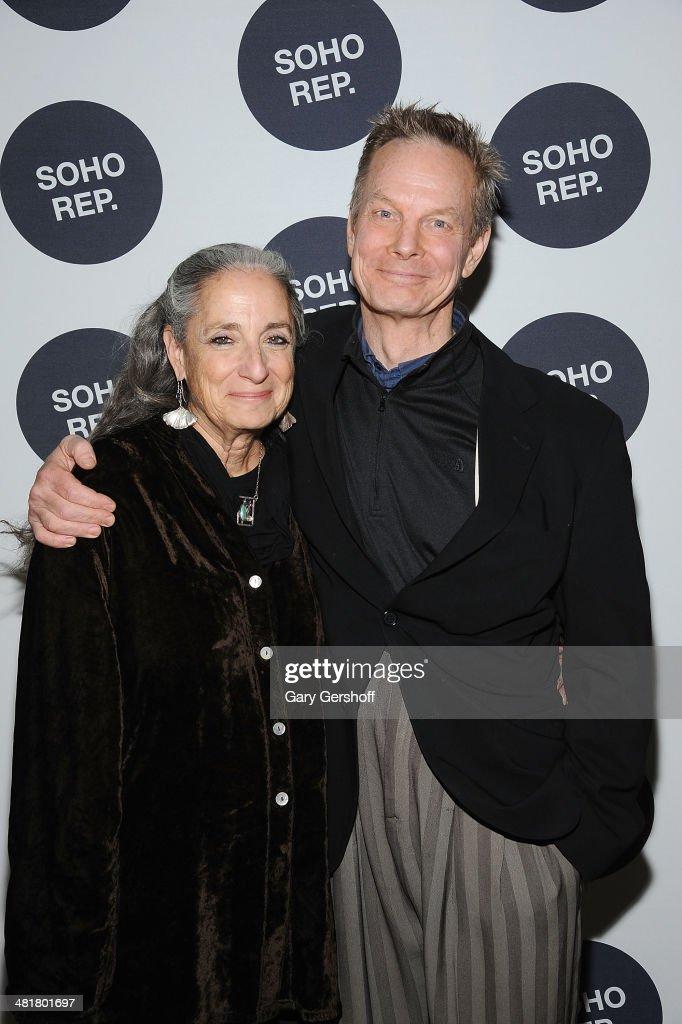 Actor <a gi-track='captionPersonalityLinkClicked' href=/galleries/search?phrase=Bill+Irwin&family=editorial&specificpeople=213628 ng-click='$event.stopPropagation()'>Bill Irwin</a> (L) and wife Martha Roth attend Soho Rep's 2014 Spring Fete at The Angel Orensanz Foundation on March 31, 2014 in New York City.
