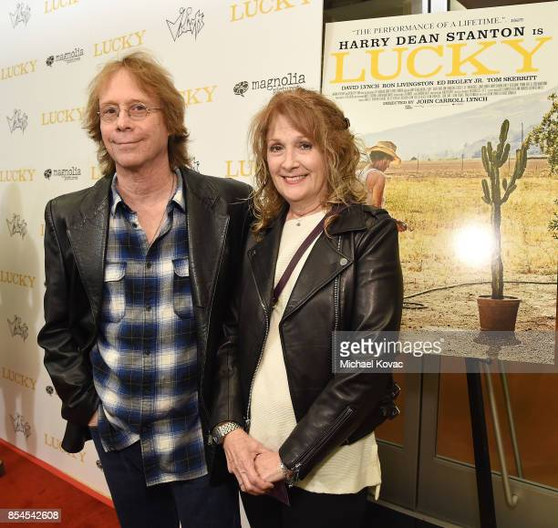 Actor Bill Mumy and Eileen Mumy attend the Los Angeles premiere of 'Lucky' at Linwood Dunn Theater on September 26 2017 in Los Angeles California