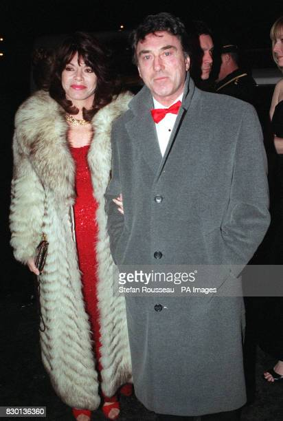 Actor Bill Murray and his wife Elaine arriving at a Valentine's Ball at the Hilton Hotel in London to raise money for the Rhys Daniels Trust Rhys...