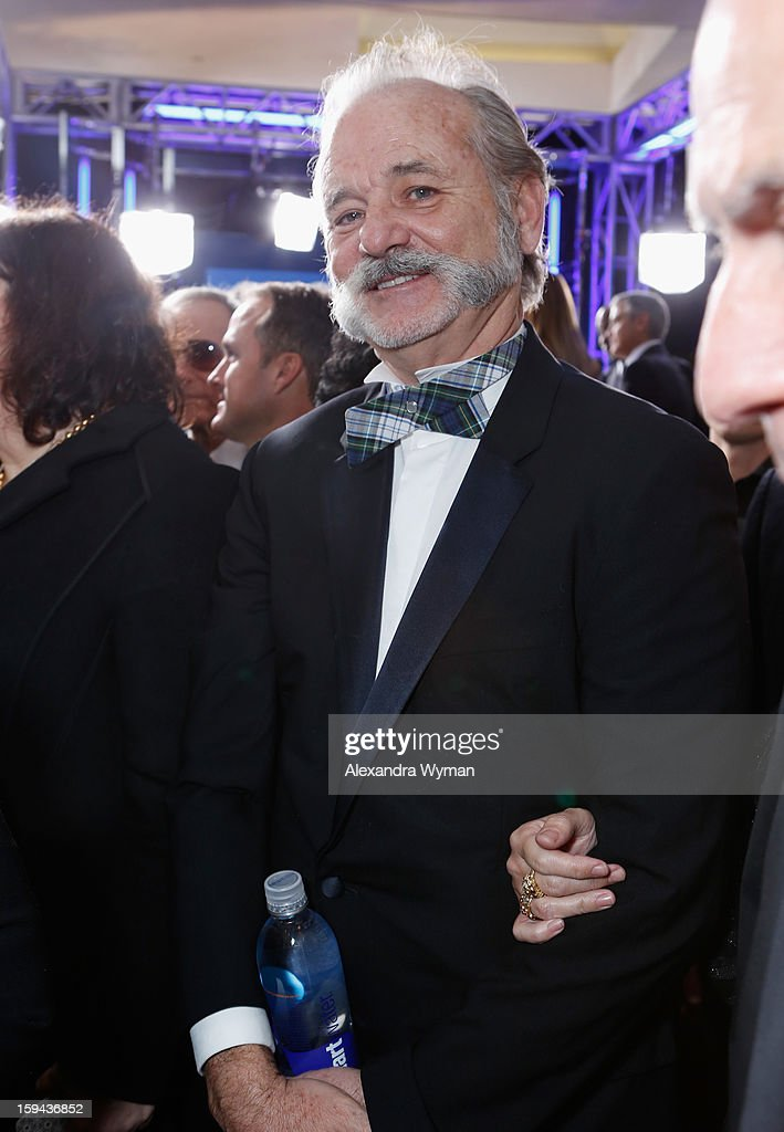 Actor Bill Murray arrives at the 70th Annual Golden Globe Awards held at The Beverly Hilton Hotel on January 13, 2013 in Beverly Hills, California.
