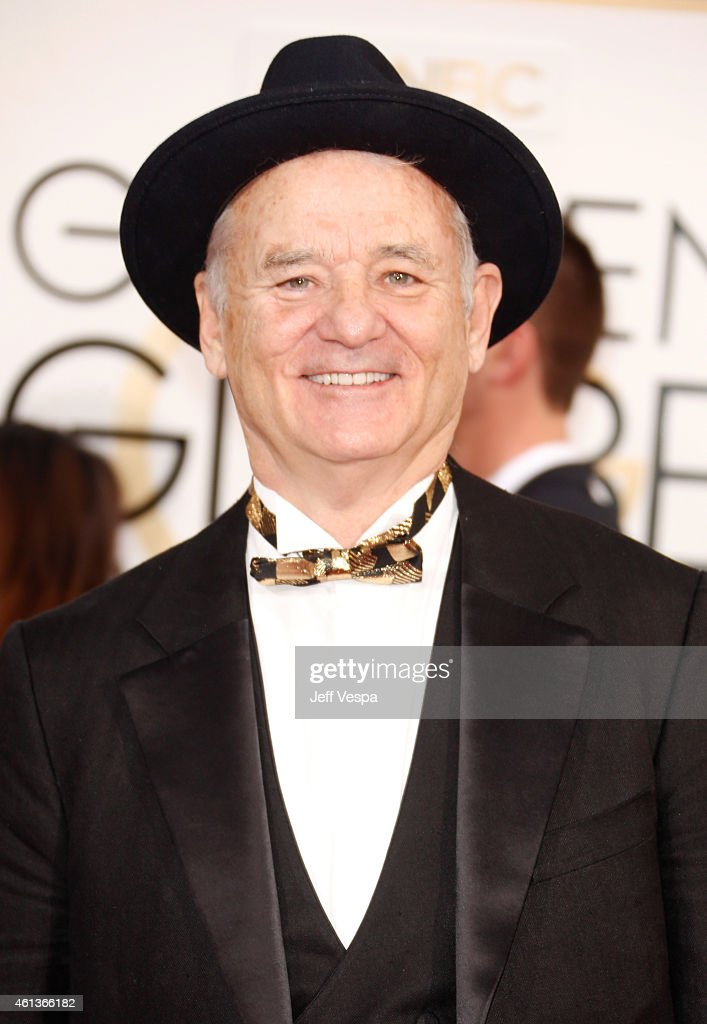 Actor <a gi-track='captionPersonalityLinkClicked' href=/galleries/search?phrase=Bill+Murray&family=editorial&specificpeople=171116 ng-click='$event.stopPropagation()'>Bill Murray</a> attends the 72nd Annual Golden Globe Awards at The Beverly Hilton Hotel on January 11, 2015 in Beverly Hills, California.