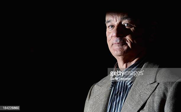 Actor Bill Murray attends the ''Hyde Park on Hudson' premiere during the 56th BFI London Film Festival at the Empire Leicester Square on October 16...