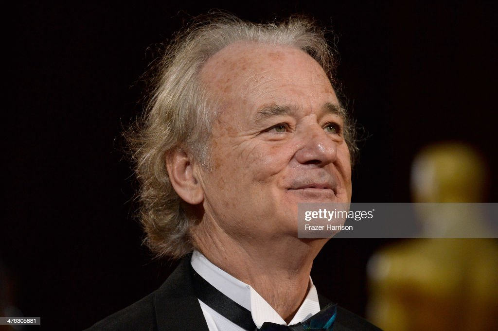 Actor <a gi-track='captionPersonalityLinkClicked' href=/galleries/search?phrase=Bill+Murray&family=editorial&specificpeople=171116 ng-click='$event.stopPropagation()'>Bill Murray</a> attends the Oscars held at Hollywood & Highland Center on March 2, 2014 in Hollywood, California.