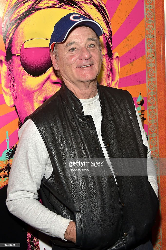 Actor <a gi-track='captionPersonalityLinkClicked' href=/galleries/search?phrase=Bill+Murray&family=editorial&specificpeople=171116 ng-click='$event.stopPropagation()'>Bill Murray</a> attends the 'Rock The Kasbah' New York Premiere at AMC Loews Lincoln Square 13 theater on October 19, 2015 in New York City.