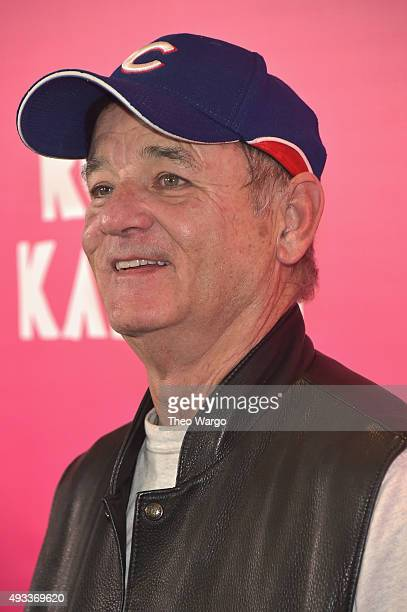 Actor Bill Murray attends the 'Rock The Kasbah' New York Premiere at AMC Loews Lincoln Square 13 theater on October 19 2015 in New York City