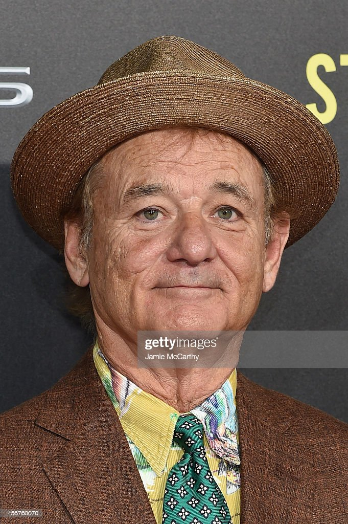 Actor <a gi-track='captionPersonalityLinkClicked' href=/galleries/search?phrase=Bill+Murray&family=editorial&specificpeople=171116 ng-click='$event.stopPropagation()'>Bill Murray</a> attends the 'St. Vincent' New York Premiere at Ziegfeld Theater on October 6, 2014 in New York City.