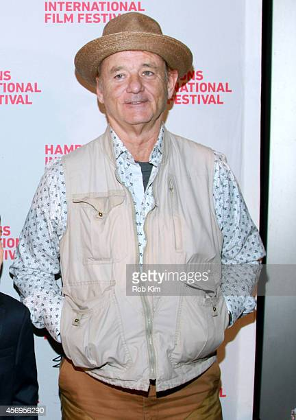 Actor Bill Murray attends the St Vincent premiere during the 2014 Hamptons International Film Festival on October 9 2014 in East Hampton New York