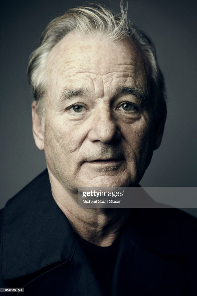 Actor <a gi-track='captionPersonalityLinkClicked' href=/galleries/search?phrase=Bill+Murray&family=editorial&specificpeople=171116 ng-click='$event.stopPropagation()'>Bill Murray</a> photographed for SAG Foundation on October 14, 2012 in New York City.