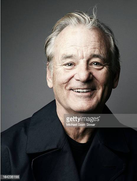 Actor Bill Murray photographed for SAG Foundation on October 14 2012 in New York City CREDIT MUST READ Michael Scott Slosar/SAG Foundation/Contour by...