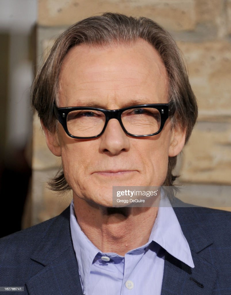 Actor <a gi-track='captionPersonalityLinkClicked' href=/galleries/search?phrase=Bill+Nighy&family=editorial&specificpeople=201599 ng-click='$event.stopPropagation()'>Bill Nighy</a> arrives at the Los Angeles premiere of 'Jack The Giant Slayer' at TCL Chinese Theatre on February 26, 2013 in Hollywood, California.