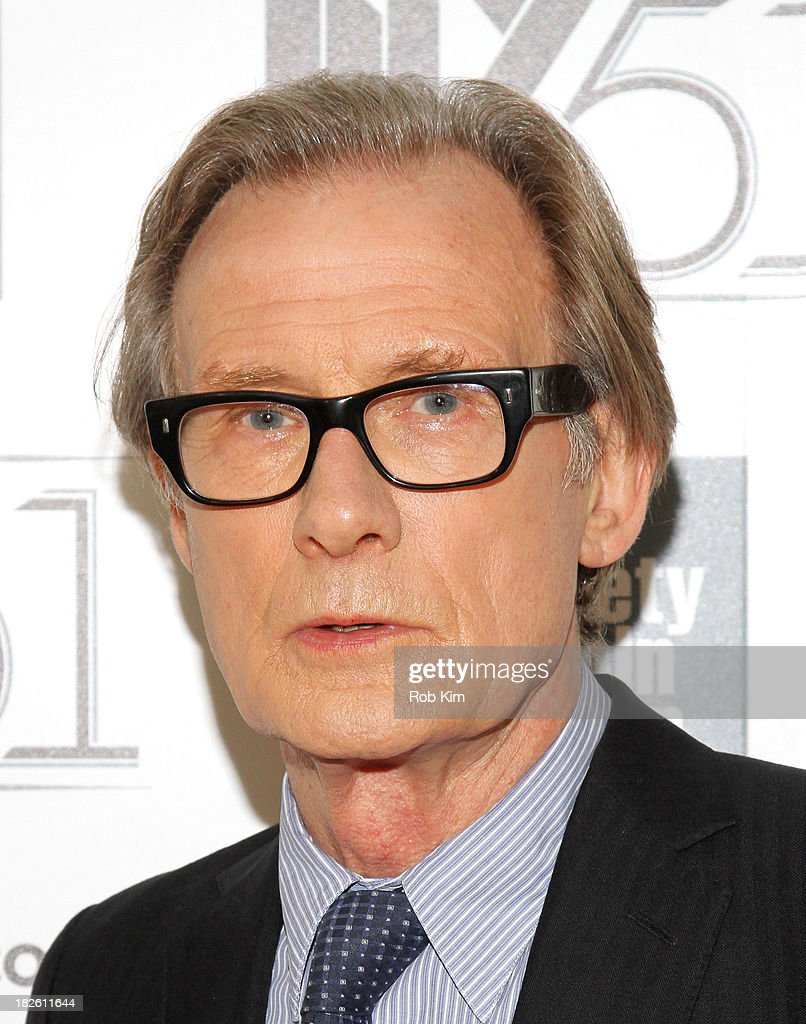 Actor <a gi-track='captionPersonalityLinkClicked' href=/galleries/search?phrase=Bill+Nighy&family=editorial&specificpeople=201599 ng-click='$event.stopPropagation()'>Bill Nighy</a> attends the 'About Time' premiere during the 51st New York Film Festival at Alice Tully Hall at Lincoln Center on October 1, 2013 in New York City.