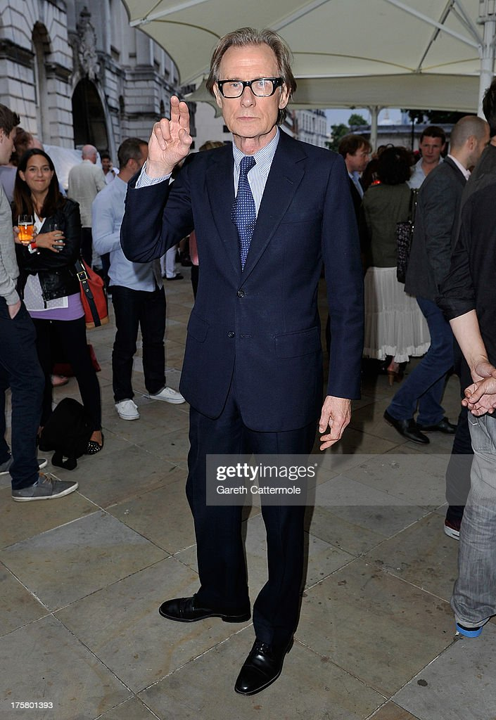 Actor Bill Nighy attends the 'About Time' world premiere at Somerset House on August 8, 2013 in London, England.