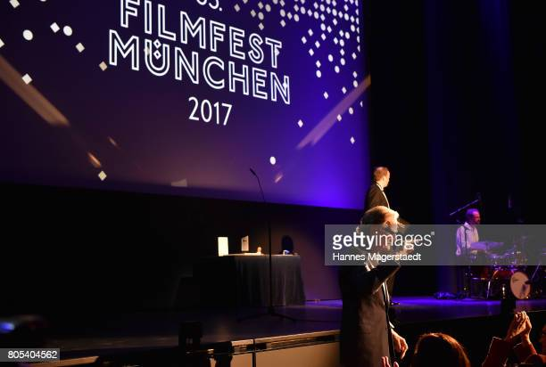 Actor Bill Nighy during the premiere of 'Ihre Beste Stunde' as closing movie of Munich Film Festival 2017 at Gasteig on July 1 2017 in Munich Germany