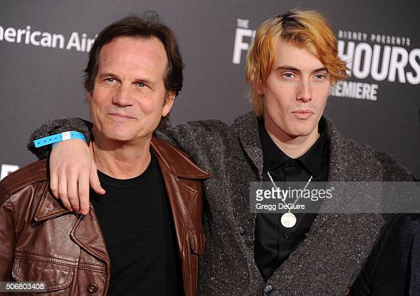 Actor Bill Paxton and son James Paxton arrive at the premiere of Disney's 'The Finest Hours' at TCL Chinese Theatre on January 25 2016 in Hollywood...