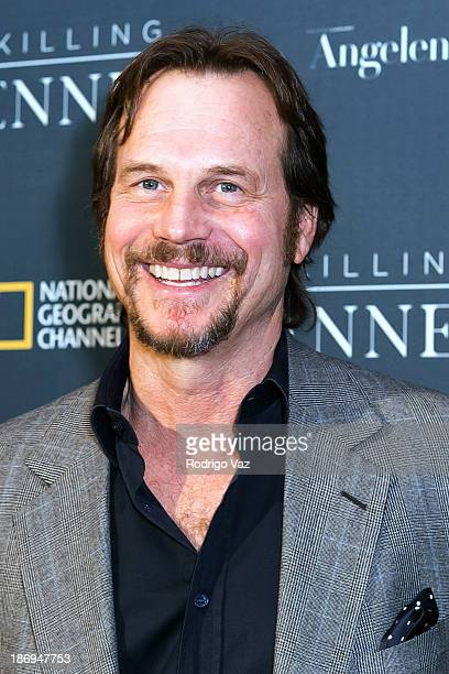 Actor Bill Paxton arrives at National Geographic Channel presents Los Angeles premiere of 'Killing Kennedy' at Saban Theatre on November 4 2013 in...