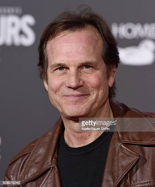 Actor Bill Paxton arrives at the premiere of Disney's 'The Finest Hours' at TCL Chinese Theatre on January 25 2016 in Hollywood California