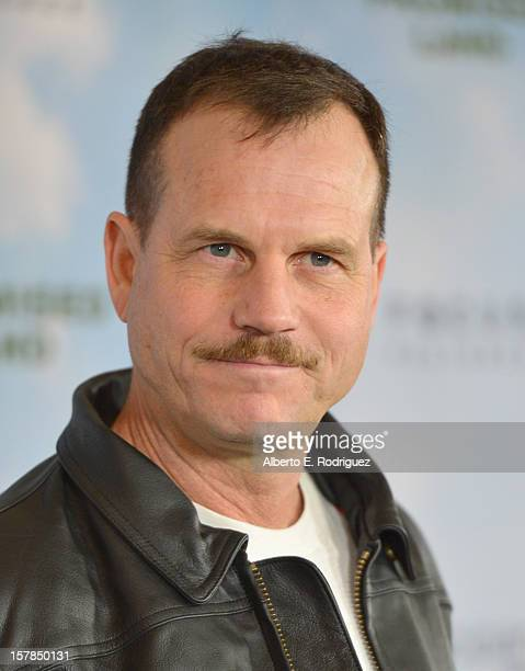 Actor Bill Paxton arrives to the premiere of Focus Features' 'Promised Land' at the Directors Guild Of America on December 6 2012 in Los Angeles...