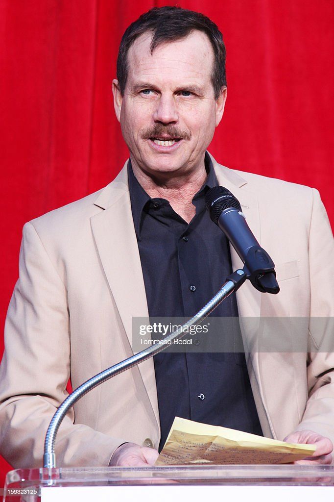 Actor <a gi-track='captionPersonalityLinkClicked' href=/galleries/search?phrase=Bill+Paxton&family=editorial&specificpeople=241223 ng-click='$event.stopPropagation()'>Bill Paxton</a> attends a press conference announcing the renaming of Grauman's Chinese Theatre to the TCL Chinese Theatre held at the Chinese Theatre on January 11, 2013 in Hollywood, California.