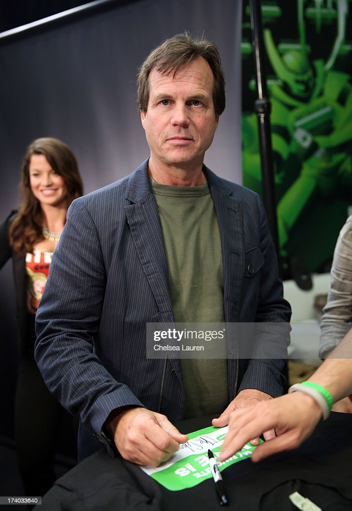 Actor <a gi-track='captionPersonalityLinkClicked' href=/galleries/search?phrase=Bill+Paxton&family=editorial&specificpeople=241223 ng-click='$event.stopPropagation()'>Bill Paxton</a> attends 'The Colony' at The Movies On Demand Lounge during Comic-Con International 2013 at Hard Rock Hotel San Diego on July 19, 2013 in San Diego, California.