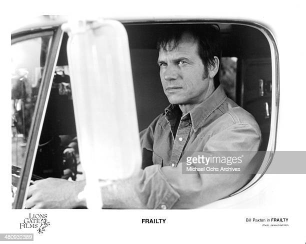 Actor Bill Paxton in a scene from the Lions Gate Films movie ' Frailty ' circa 2001