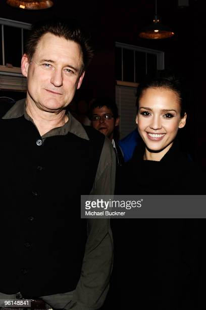COVERAGE** Actor Bill Pullman and actress Jessica Alba attend 'The Killer Inside Me' dinner at the MySpace Cafe on January 24 2010 in Park City Utah