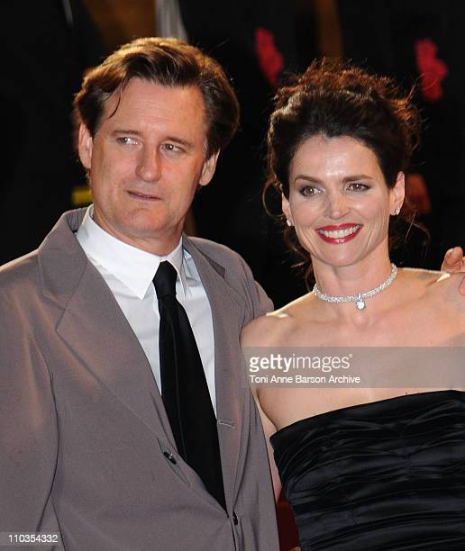 Actor Bill Pullman and actress Julia Ormond attend the 'Surveillance' premiere at the Palais des Festivals during the 61st International Cannes Film...