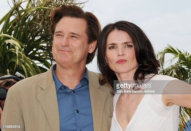 Actor Bill Pullman and actress Julia Ormond attends the 'Surveillance' photocall at the Palais des Festivals during the 61st International Cannes...