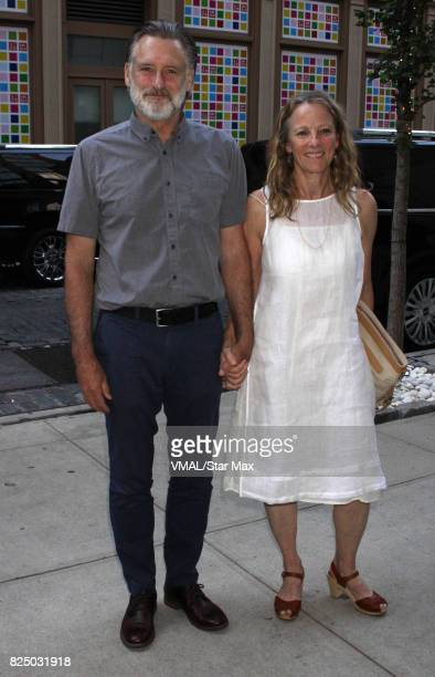 Actor Bill Pullman and Tamara Hurwitz are seen on July 31 2017 in New York City