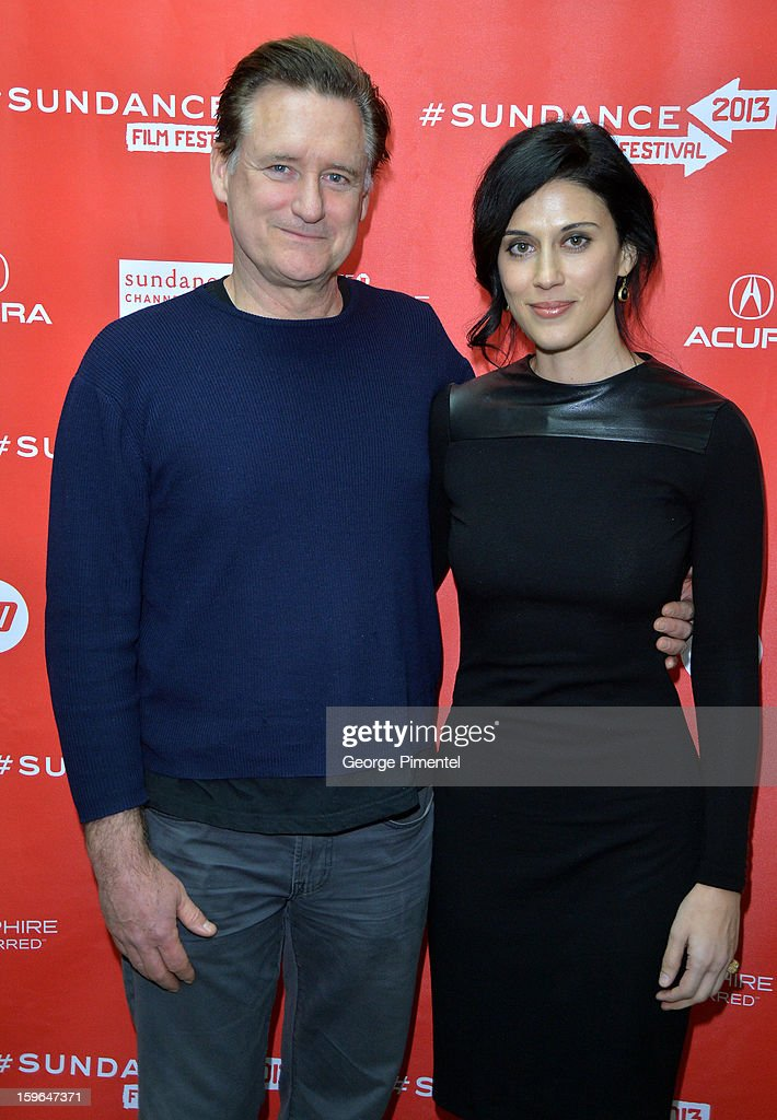 Actor Bill Pullman and writer/director Cherien Dabis attend the 'May In The Summer' premiere during the 2013 Sundance Film Festival at Eccles Center Theatre on January 17, 2013 in Park City, Utah.