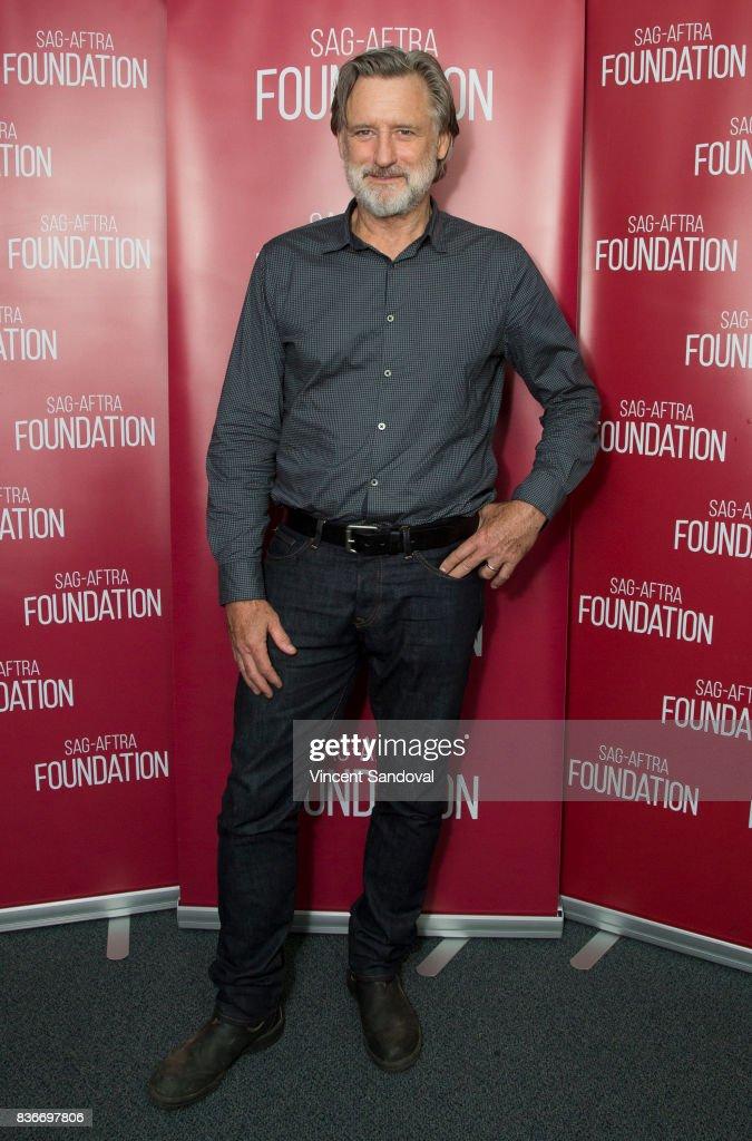 Actor Bill Pullman attends SAG-AFTRA Foundation Conversations - Career Retrospective with Bill Pullman at SAG-AFTRA Foundation Screening Room on August 21, 2017 in Los Angeles, California.