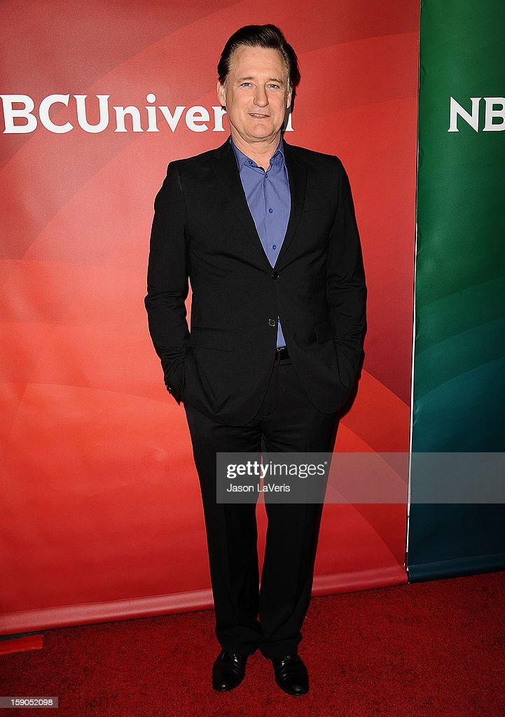 Actor <a gi-track='captionPersonalityLinkClicked' href=/galleries/search?phrase=Bill+Pullman&family=editorial&specificpeople=226899 ng-click='$event.stopPropagation()'>Bill Pullman</a> attends the 2013 NBC TCA Winter Press Tour at The Langham Huntington Hotel and Spa on January 6, 2013 in Pasadena, California.