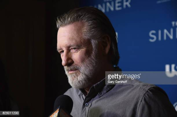 Actor Bill Pullman attends 'The Sinner' series premiere screening at Crosby Street Hotel on July 31 2017 in New York City