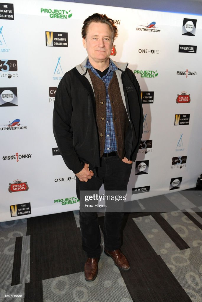 Actor <a gi-track='captionPersonalityLinkClicked' href=/galleries/search?phrase=Bill+Pullman&family=editorial&specificpeople=226899 ng-click='$event.stopPropagation()'>Bill Pullman</a> attends the Sundance Film Festival: Creative Coalition Luncheon at The Sky Lodge during the 2013 Sundance Film Festival on January 19, 2013 in Park City, Utah.