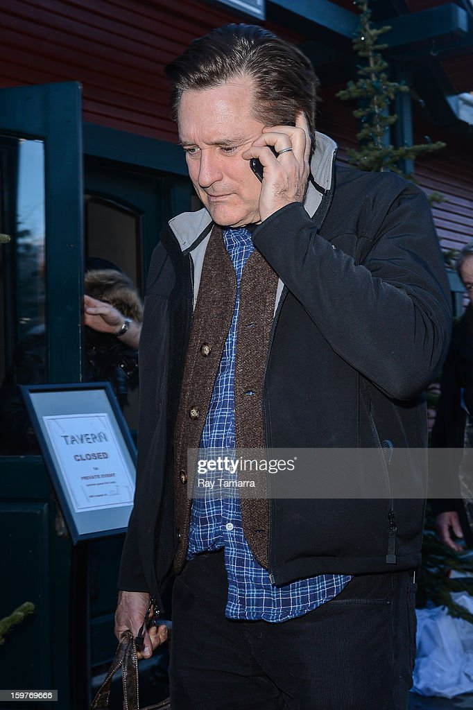 Actor Bill Pullman walks in Park City on January 19, 2013 in Park City, Utah.