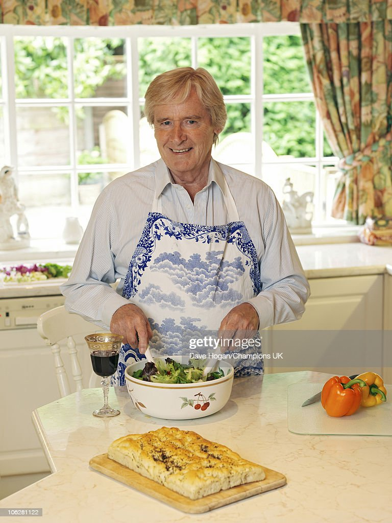 Actor Bill Roache poses for a portrait shoot at his home in Wilmslow on July 12, 2010.