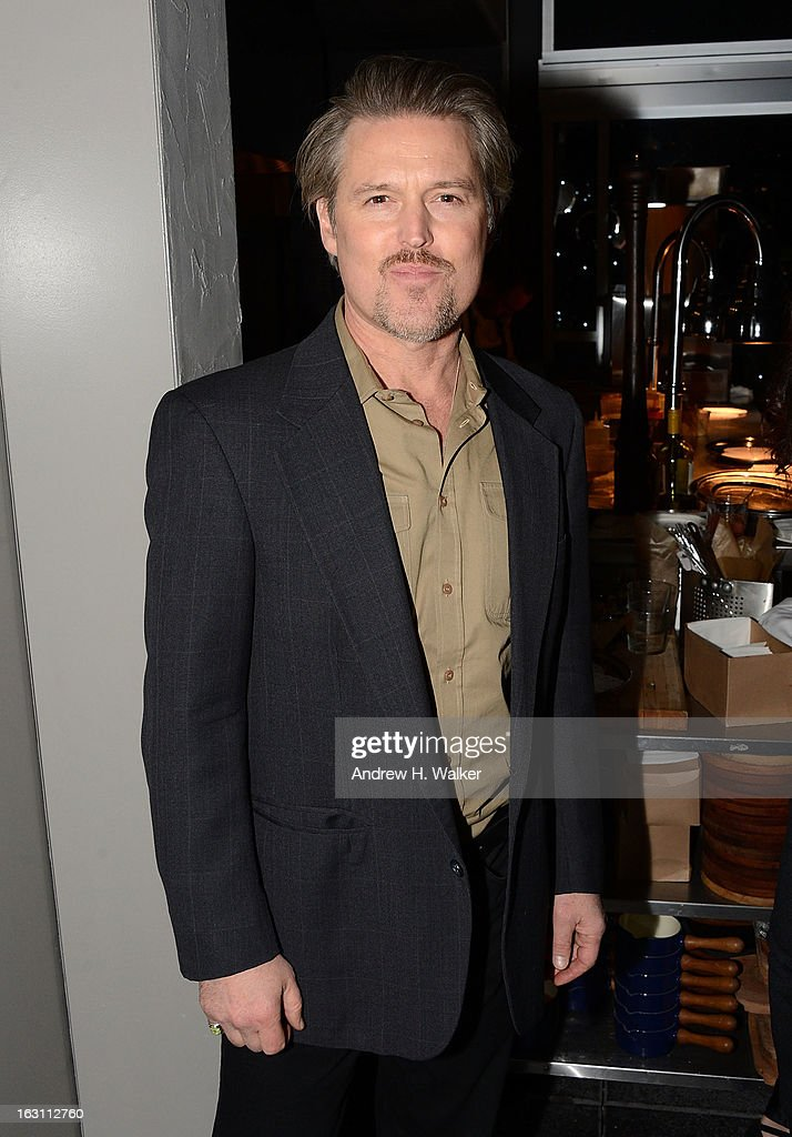 Actor Bill Sage attends the after party for The Cinema Society & Make Up For Ever screening of 'Electrick Children' at Hotel Americano on March 4, 2013 in New York City.