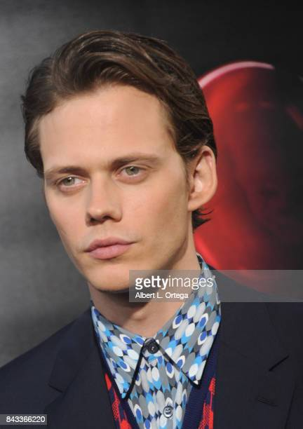Actor Bill Skarsgard arrives for the Premiere Of Warner Bros Pictures And New Line Cinema's 'It' held at TCL Chinese Theatre on September 5 2017 in...