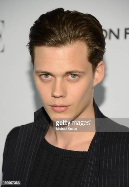 Actor Bill Skarsgard attends the ELLE's Women in Television Celebration at Soho House on January 24 2013 in West Hollywood California