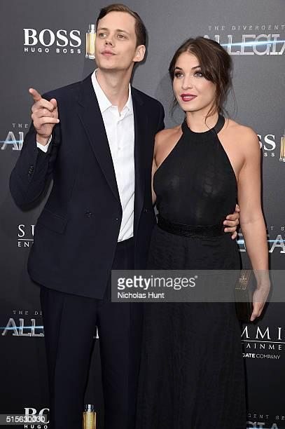 Actor Bill Skarsgard attends the New York premiere of 'Allegiant' at the AMC Lincoln Square Theater on March 14 2016 in New York City