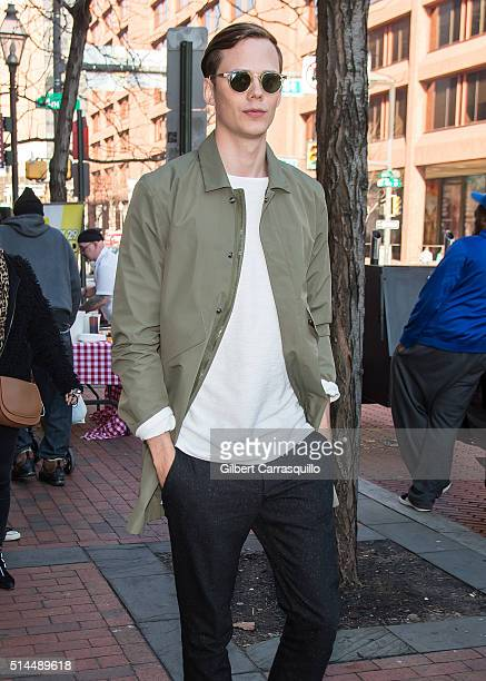 Actor Bill Skarsgard visits Fox 29's 'Good Day' at FOX 29 Studio to promote The Divergent Series Allegiant on March 9 2016 in Philadelphia...