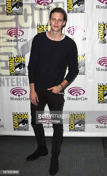 Actor Bill Skarsgård participates in WonderCon Anaheim 2013 Day 1 held at Anaheim Convention Center on March 29 2013 in Anaheim California