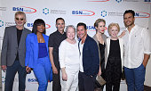 Actor Billy Bob Thornton actress Angela Bassett Lymphatic Education and Research Network Executive Director William Repicci actress Kathy Bates...
